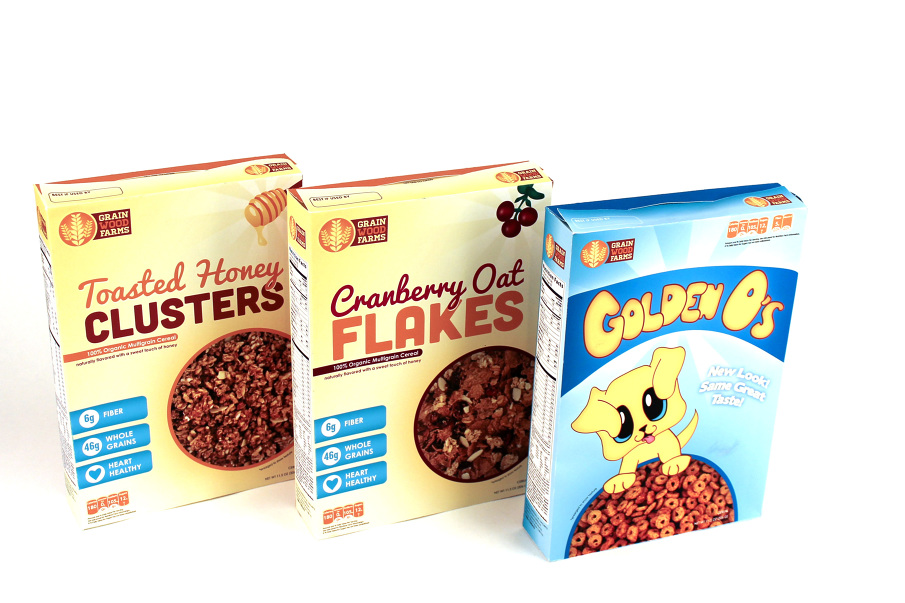The Evolution of Cereal Packaging