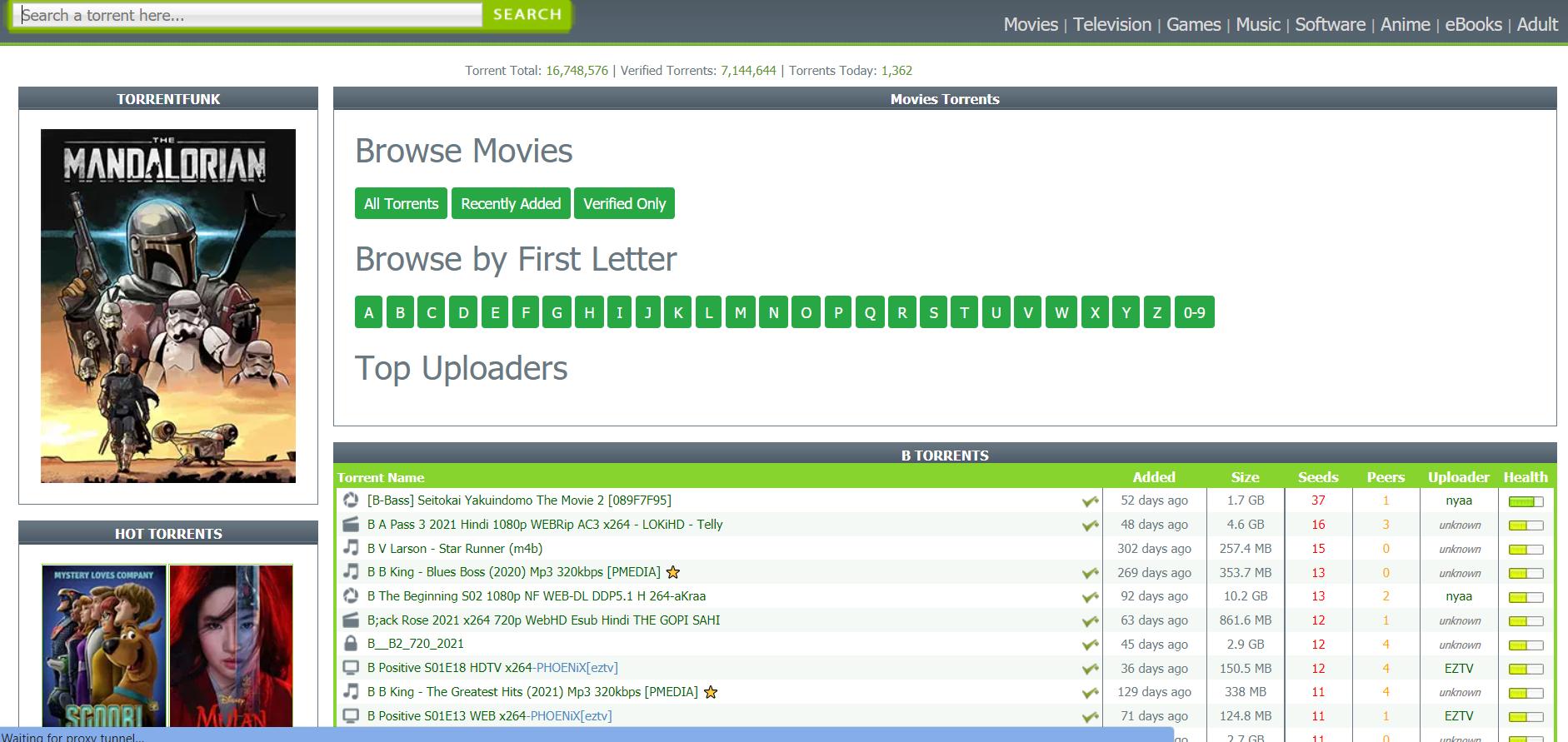 TorrentFunk Movies Torrents