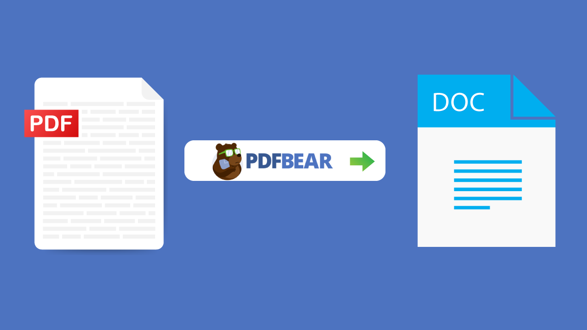PDFBear: The Unrivaled PDF to Word Online Converter