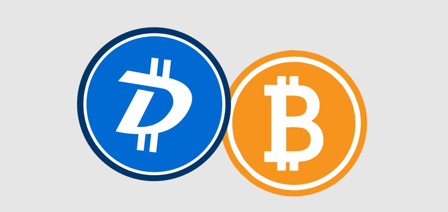 Top 4 converters DGB to BTC in 2021
