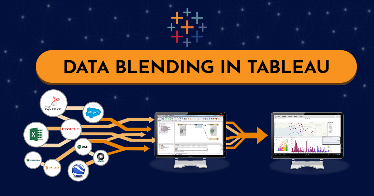 What is Data Blending in Tableau?